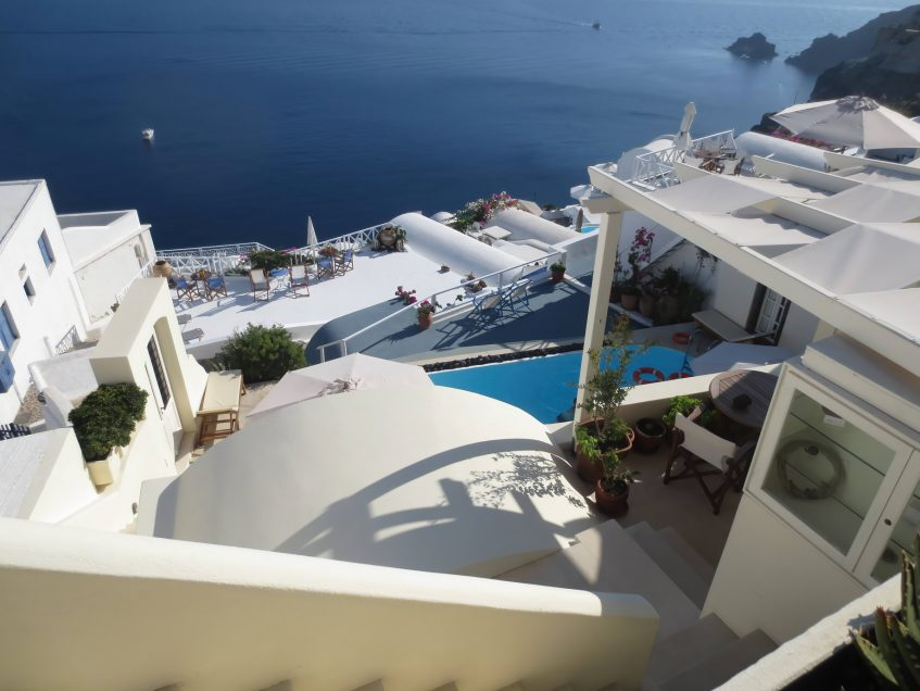 Mystique Luxury Hotel Santorini – Oia, Santorini Island, Greece - Mystique Ocean View Terraced Decks