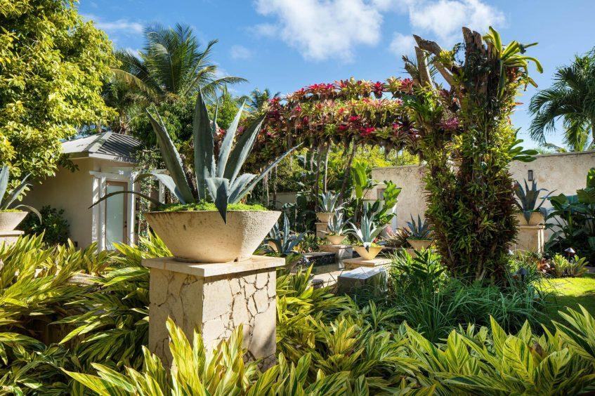 The St. Regis Bahia Beach Luxury Resort - Rio Grande, Puerto Rico - Iridium Spa Garden