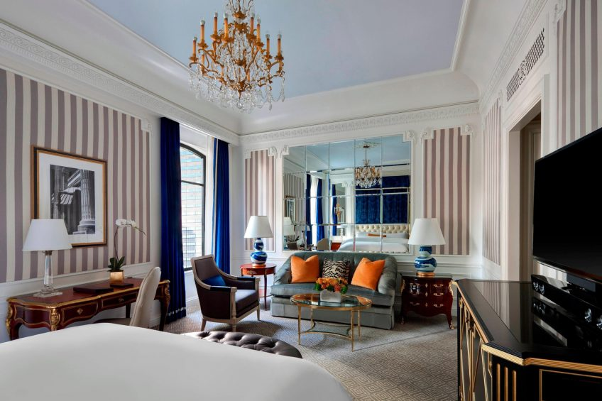 The St. Regis New York Luxury Hotel - New York, NY, USA - Grand Luxe King Guest Room