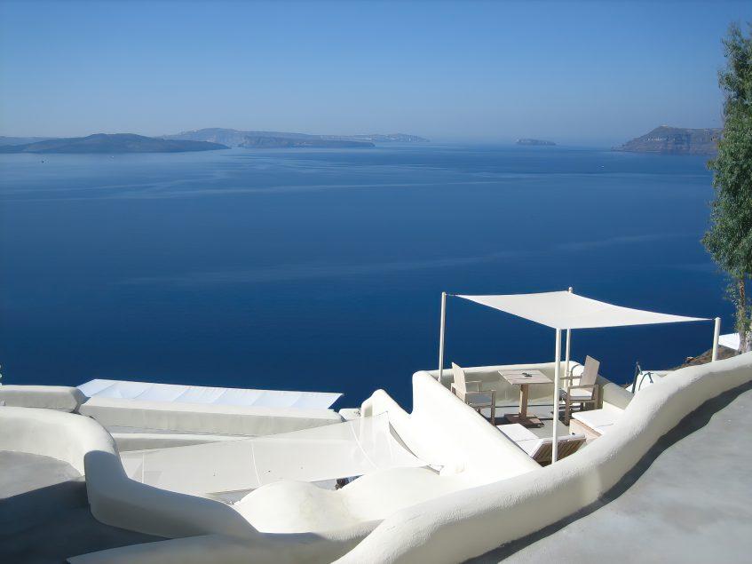 Mystique Luxury Hotel Santorini – Oia, Santorini Island, Greece - Mystique Ocean View Deck