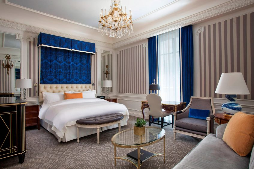 The St. Regis New York Luxury Hotel - New York, NY, USA - Deluxe King Guest Room