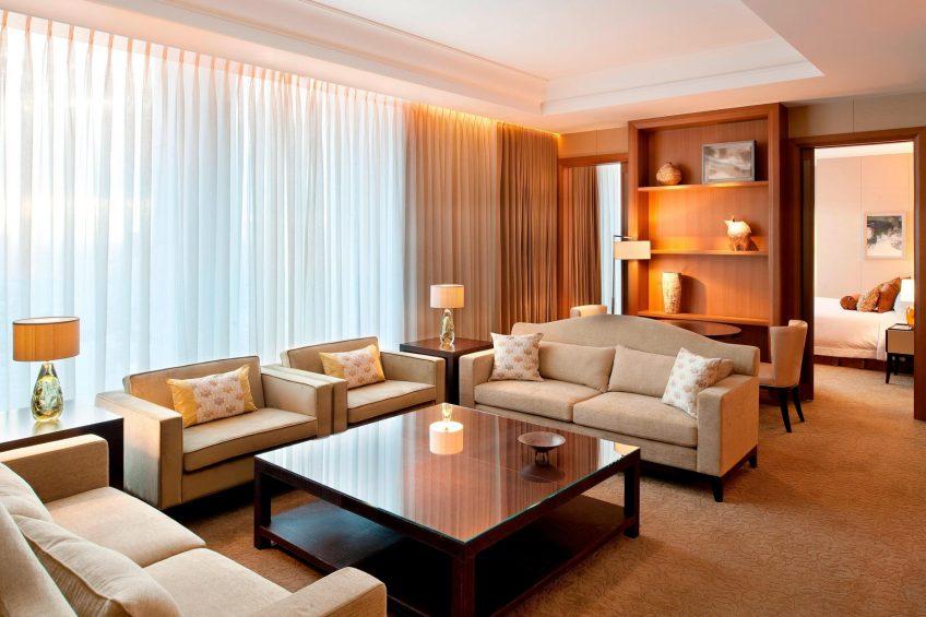 The St. Regis Osaka Luxury Hotel - Osaka, Japan - Executive Suite Living Area
