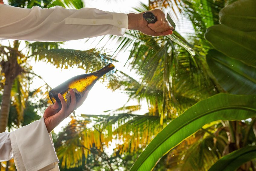 The St. Regis Bahia Beach Luxury Resort - Rio Grande, Puerto Rico - Champagne Sabering