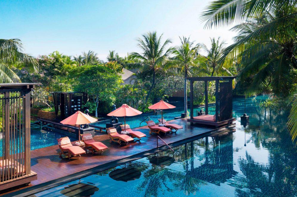 The St. Regis Bali Luxury Resort - Bali, Indonesia - Swimmable Lagoon Pool Deck