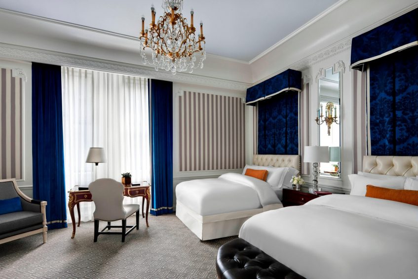 The St. Regis New York Luxury Hotel - New York, NY, USA - Double Guest Room