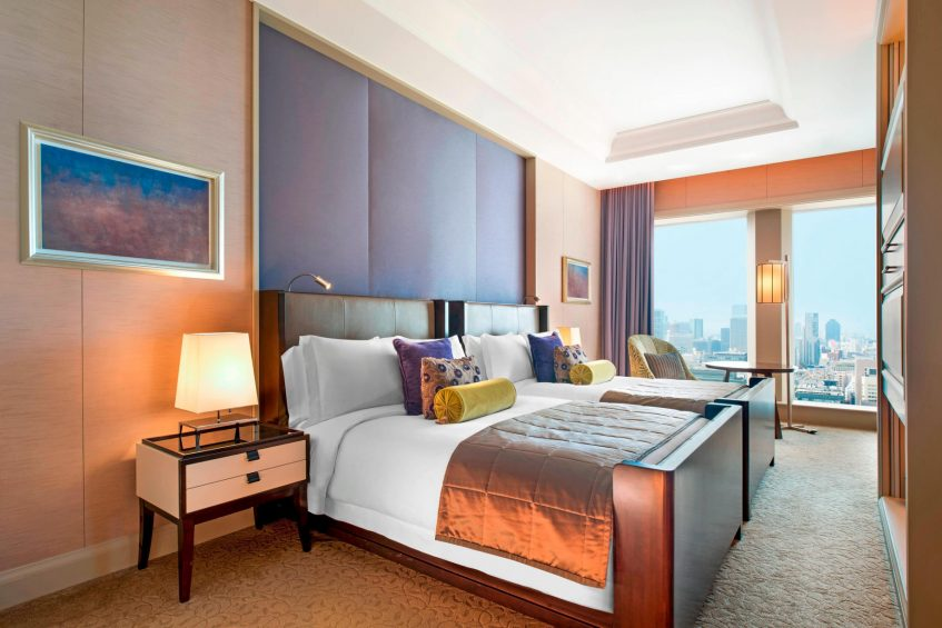 The St. Regis Osaka Luxury Hotel - Osaka, Japan - Fuji Suite Bedroom