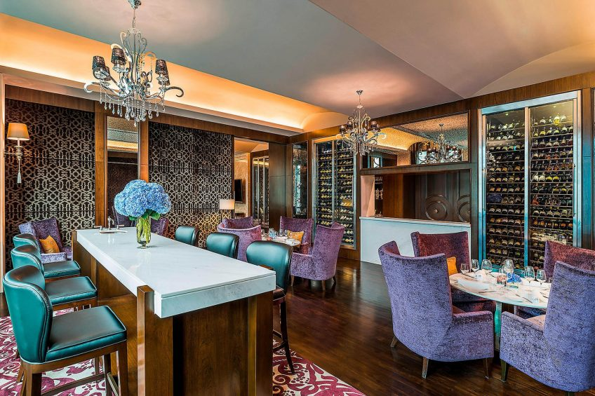 The St. Regis Bangkok Luxury Hotel - Bangkok, Thailand - Wine Lounge at Decanter