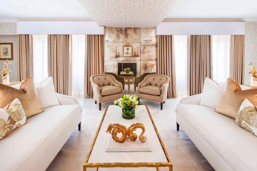 The St. Regis Washington D.C. Luxury Hotel - Washington, DC, USA - Presidential Suite Living Room