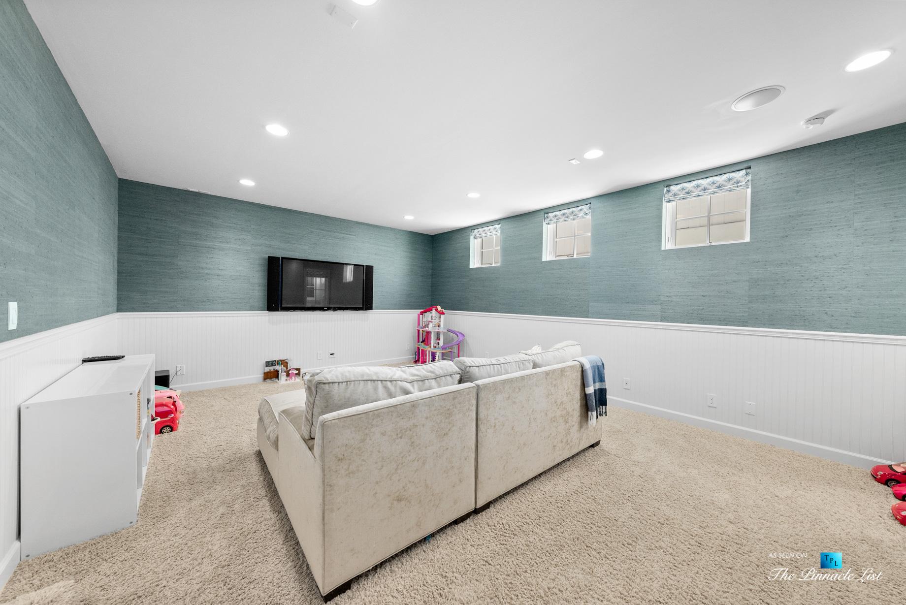 877 8th Street, Manhattan Beach, CA, USA – Basement Recreation Room
