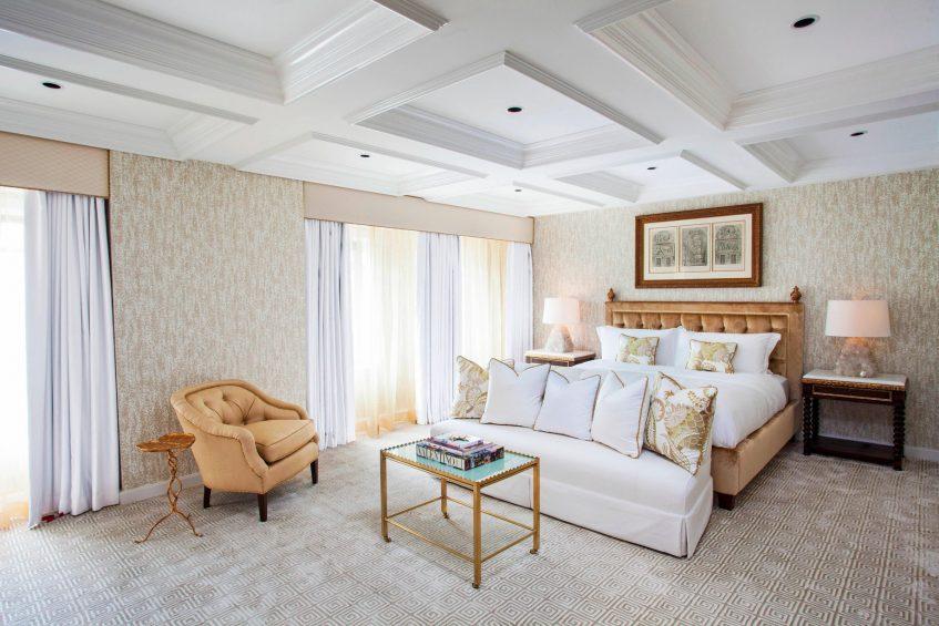 The St. Regis Washington D.C. Luxury Hotel - Washington, DC, USA - Presidential Suite Bedroom