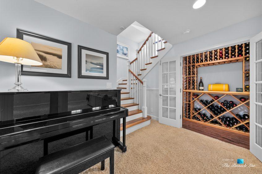 877 8th Street, Manhattan Beach, CA, USA - Basement Wine Closet