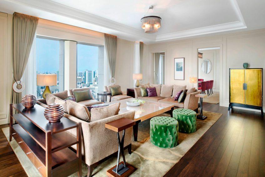 The St. Regis Osaka Luxury Hotel - Osaka, Japan - Matsu Suite Living Area