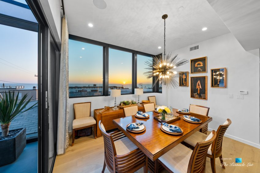 246 30th Street, Hermosa Beach, CA, USA - Dining Room Sunset