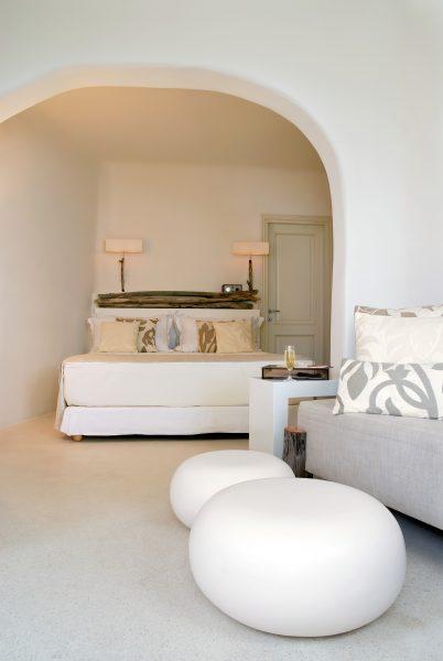 Mystique Luxury Hotel Santorini – Oia, Santorini Island, Greece - Bedroom