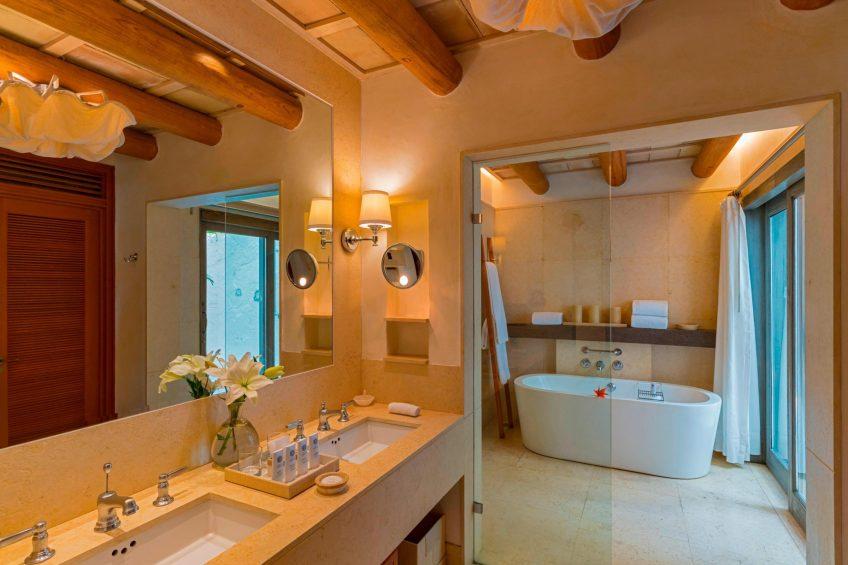 The St. Regis Punta Mita Luxury Resort - Nayarit, Mexico - Deluxe Guest Room Bathroom