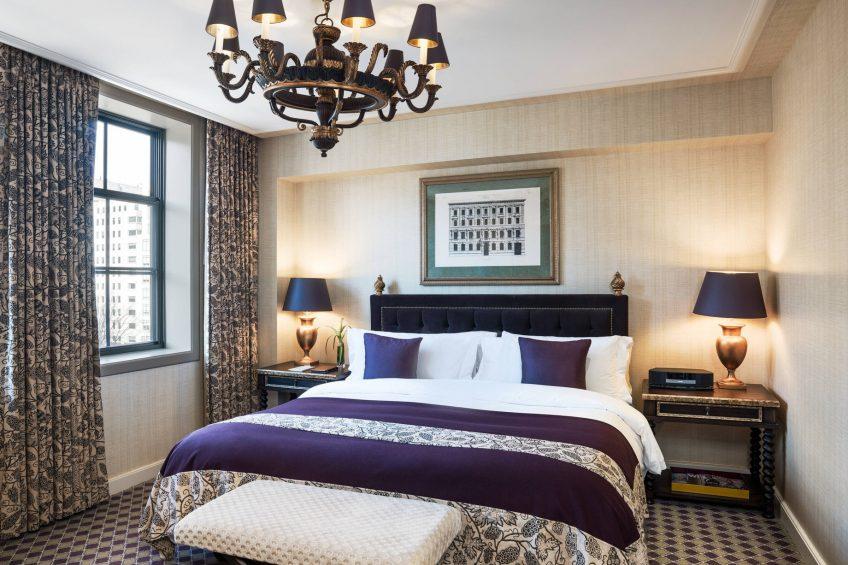 The St. Regis Washington D.C. Luxury Hotel - Washington, DC, USA - St. Regis Suite Bedroom