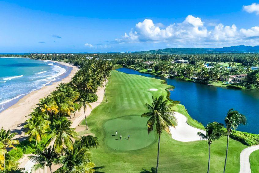 The St. Regis Bahia Beach Luxury Resort - Rio Grande, Puerto Rico - Robert Trent Golf Course Ocean Views