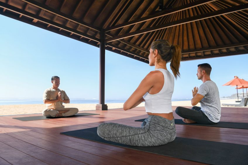 The St. Regis Bali Luxury Resort - Bali, Indonesia - Bale Pantai Yoga