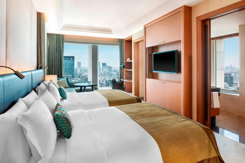 The St. Regis Osaka Luxury Hotel - Osaka, Japan - Double City View Grand Deluxe Premier Guest Room