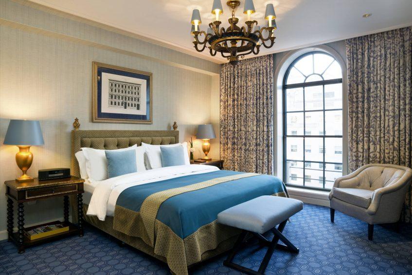 The St. Regis Washington D.C. Luxury Hotel - Washington, DC, USA - St. Regis Suite King Bedroom