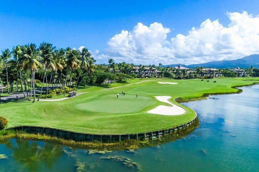 The St. Regis Bahia Beach Luxury Resort - Rio Grande, Puerto Rico - Robert Trent Golf Course El Yunque Golf Views