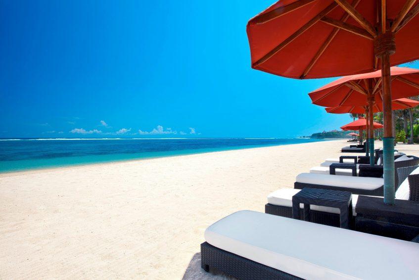 The St. Regis Bali Luxury Resort - Bali, Indonesia - Private White Sand Beach