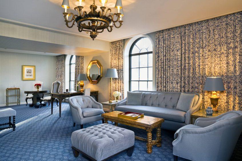 The St. Regis Washington D.C. Luxury Hotel - Washington, DC, USA - St. Regis Suite Parlor