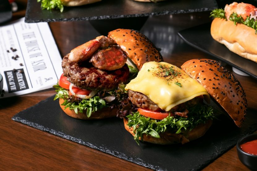 The St. Regis Bangkok Luxury Hotel - Bangkok, Thailand - Gourmet Burgers