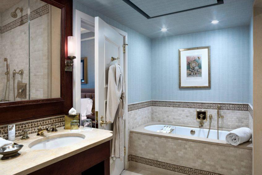 The St. Regis Washington D.C. Luxury Hotel - Washington, DC, USA - Caroline Astor Suite Bathroom