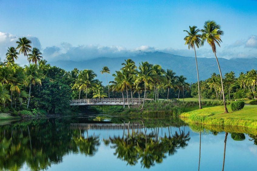 The St. Regis Bahia Beach Luxury Resort - Rio Grande, Puerto Rico - Golf Course and El Yunque Rain Forest