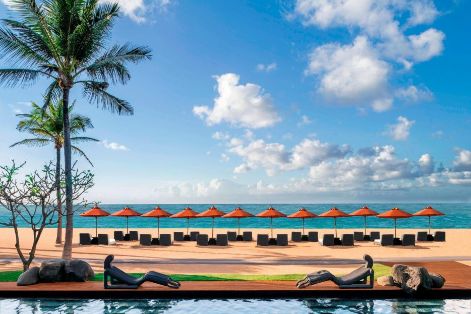 The St. Regis Bali Luxury Resort - Bali, Indonesia - St. Regis Beach and Pool