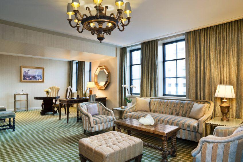 The St. Regis Washington D.C. Luxury Hotel - Washington, DC, USA - Empire Suite Parlor