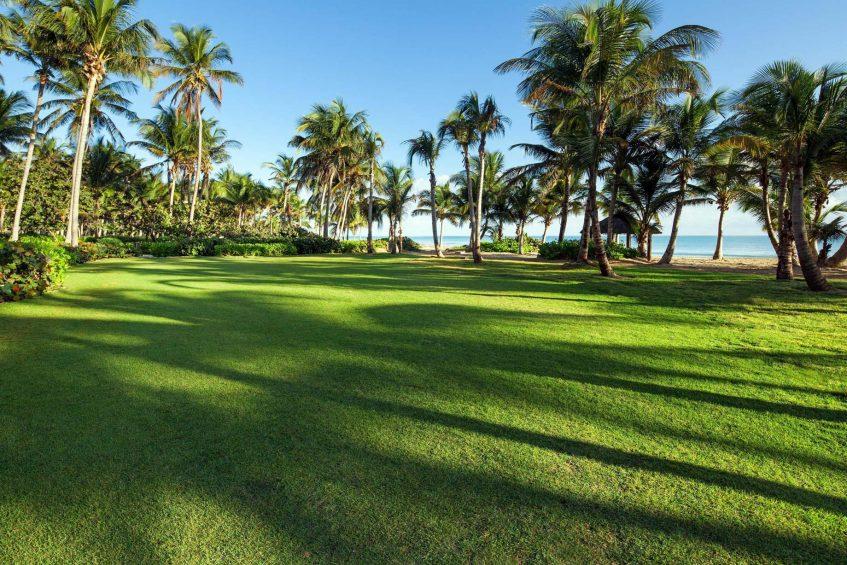 The St. Regis Bahia Beach Luxury Resort - Rio Grande, Puerto Rico - Resort Seabreeze Lawn