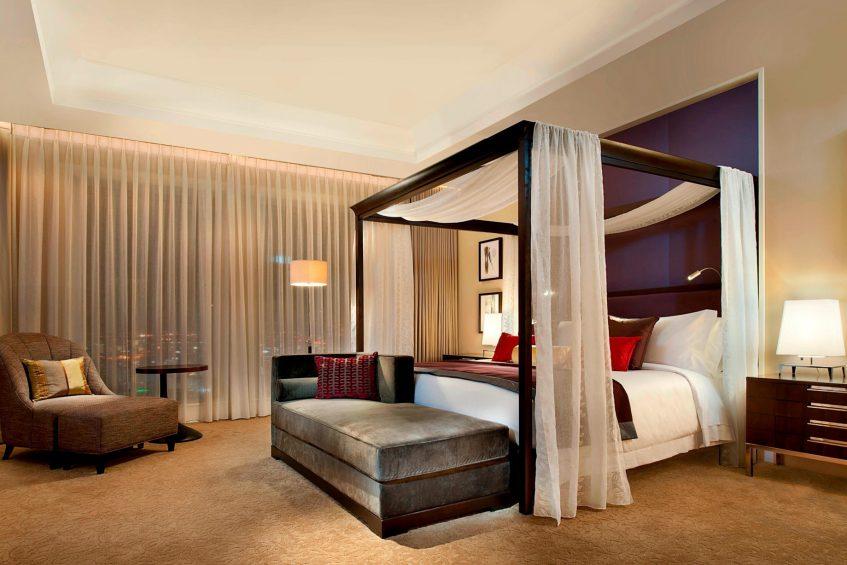 The St. Regis Osaka Luxury Hotel - Osaka, Japan - Royal Suite Master Bedroom