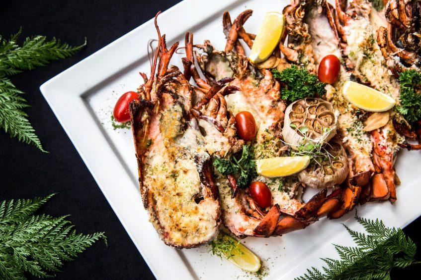 The St. Regis Bangkok Luxury Hotel - Bangkok, Thailand - Gourmet Culinary Lobster Temptations