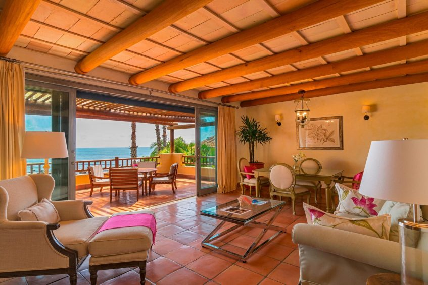 The St. Regis Punta Mita Luxury Resort - Nayarit, Mexico - Deluxe Suite Living Room
