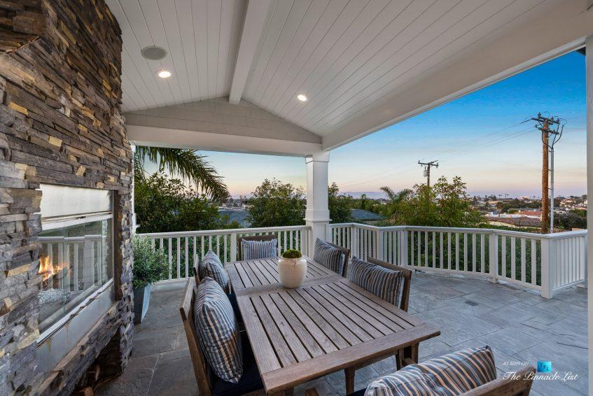 877 8th Street, Manhattan Beach, CA, USA - Top Level Patio Twilight View