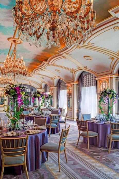 The St. Regis New York Luxury Hotel - New York, NY, USA - The St. Regis Roof Banquet Setup