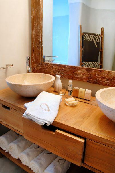 Mystique Luxury Hotel Santorini – Oia, Santorini Island, Greece - Bathroom Decor