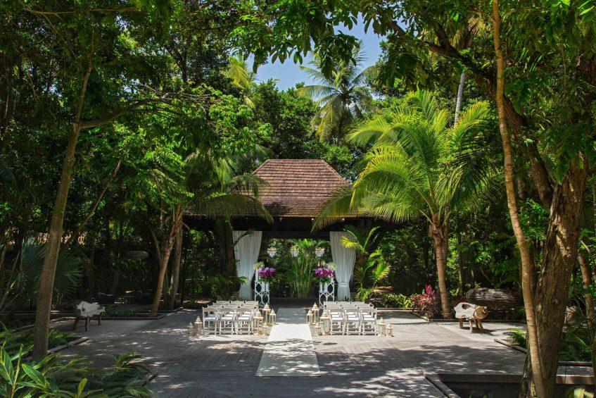 The St. Regis Bahia Beach Luxury Resort - Rio Grande, Puerto Rico - Astor Terrace Wedding Ceremony