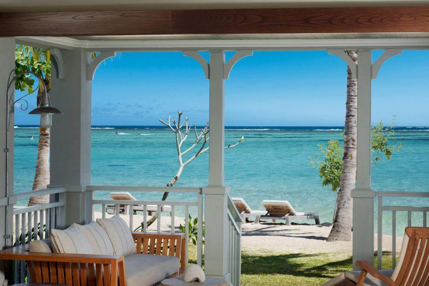 The St. Regis Mauritius Luxury Resort - Mauritius - Beachfront Access Junior Suite Terrace