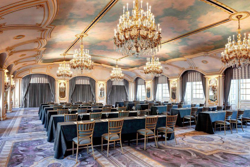 The St. Regis New York Luxury Hotel - New York, NY, USA - The St. Regis Roof Classroom Setup