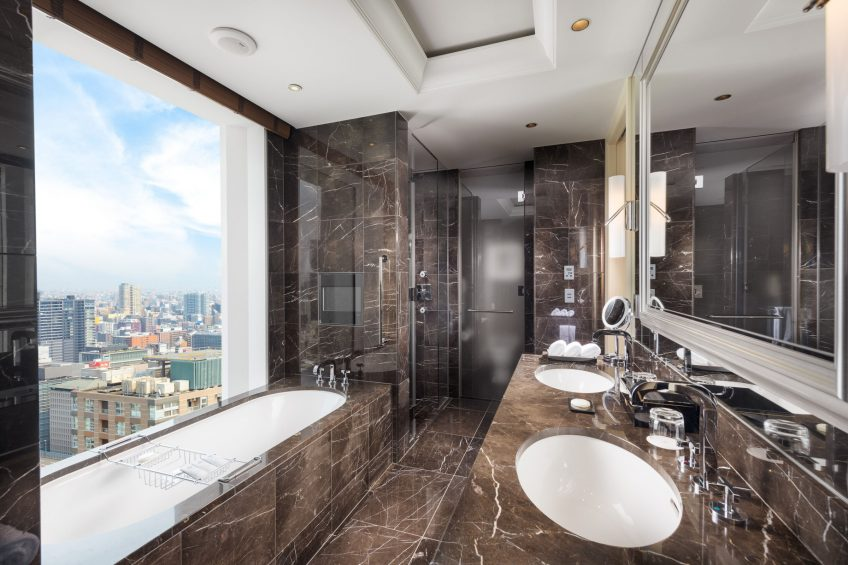 The St. Regis Osaka Luxury Hotel - Osaka, Japan - Yuri Suite Bathroom