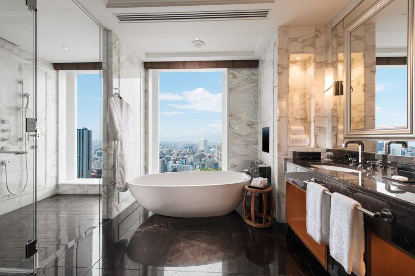 The St. Regis Osaka Luxury Hotel - Osaka, Japan - Royal Suite Bathroom