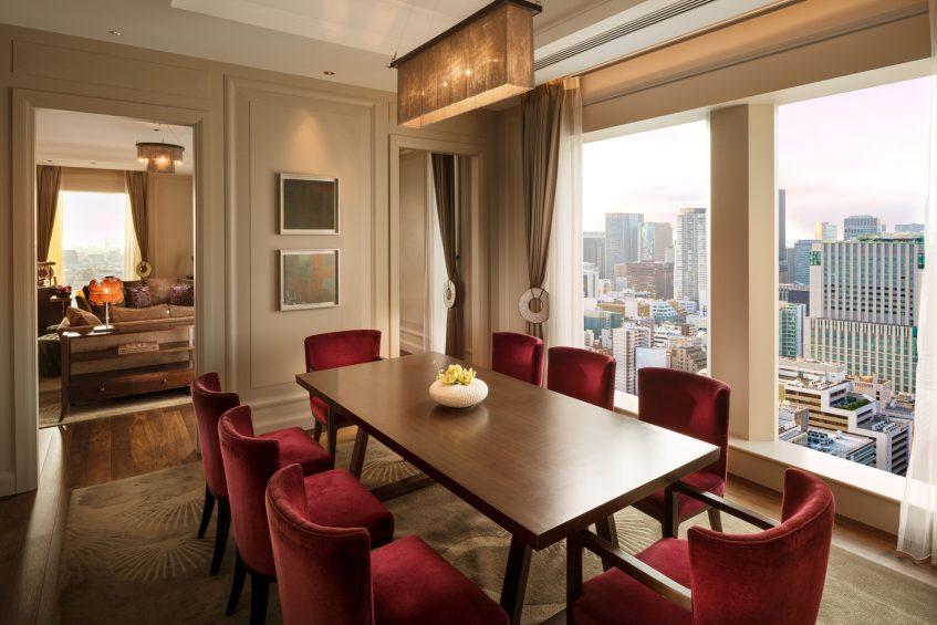 The St. Regis Osaka Luxury Hotel - Osaka, Japan - Matsu Suite Dining Area