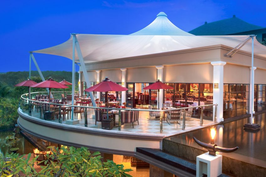 The St. Regis Bali Luxury Resort - Bali, Indonesia - Boneka Restaurant Exterior