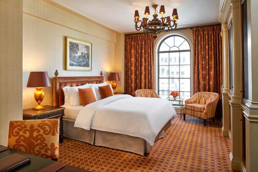 The St. Regis Washington D.C. Luxury Hotel - Washington, DC, USA - King Premier Deluxe Guest Room