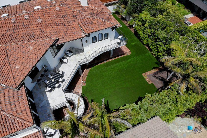853 10th Street, Manhattan Beach, CA, USA - Backyard Aerial View