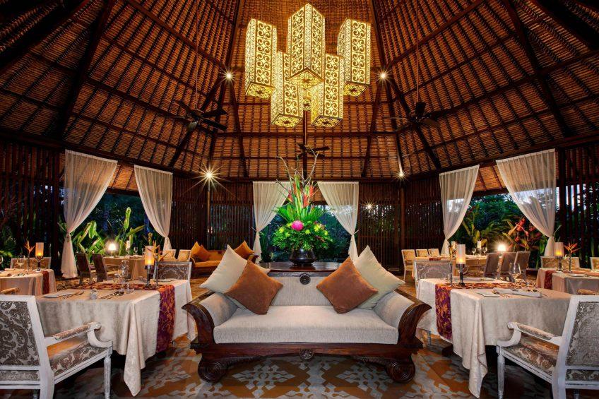 The St. Regis Bali Luxury Resort - Bali, Indonesia - Dulang Restaurant
