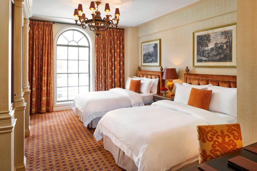 The St. Regis Washington D.C. Luxury Hotel - Washington, DC, USA - Double Deluxe Guest Room